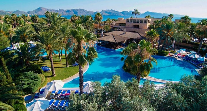 Small Family Resort In The Balearic Islands