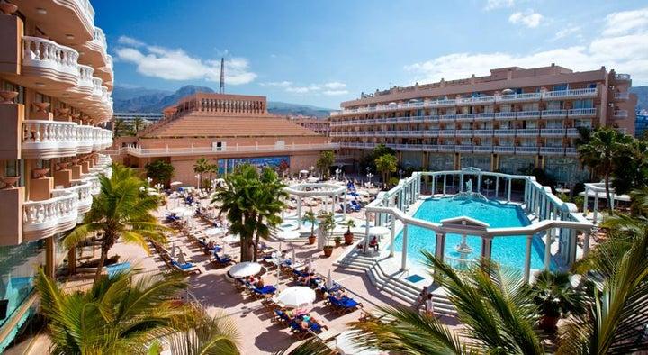 Cleopatra Palace Hotel (Mare Nostrum Resort) in Playa de las Americas, Tenerife, Canary Islands