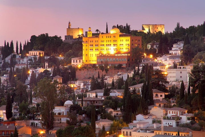 Alhambra Palace in Granada, Andalucia, Spain