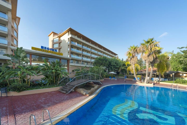 Regina Gran Hotel in Salou, Costa Dorada, Spain