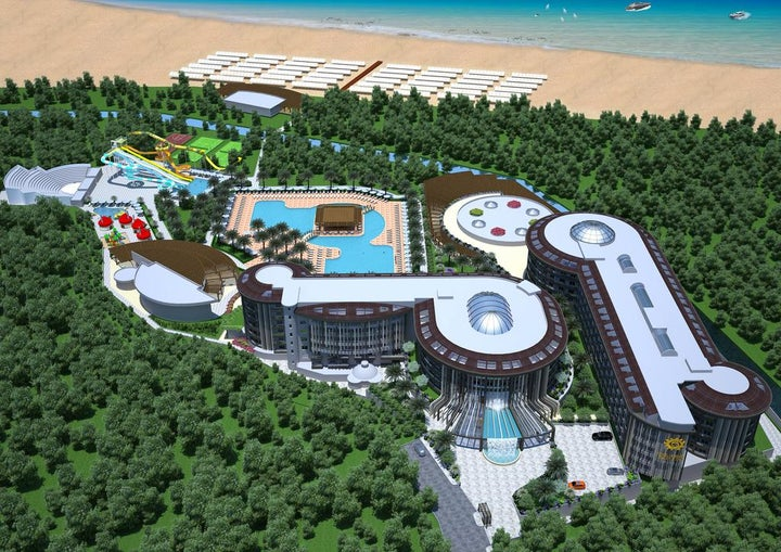 Sunmelia Beach Resort Spa and Hotel in Side, Antalya, Turkey