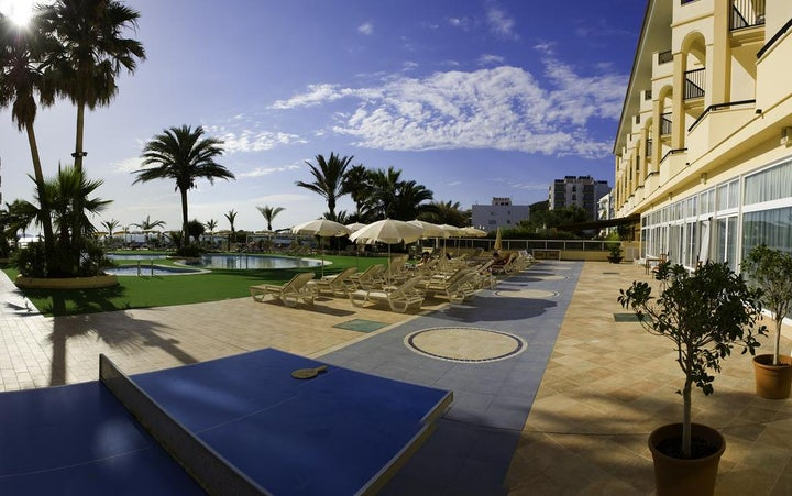 Blau Parc Aparthotel in San Antonio, Ibiza, Balearic Islands