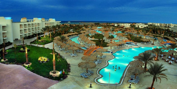 Hurghada Long Beach Resort in Hurghada, Red Sea, Egypt