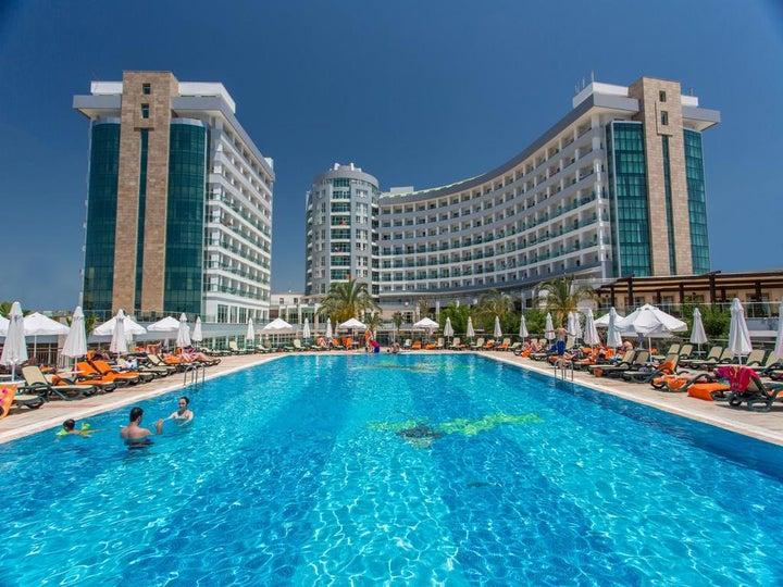Sherwood Breezes Resort in Lara Beach, Antalya, Turkey