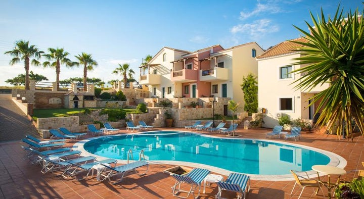 Diamond Village Apartments in Hersonissos, Crete, Greek Islands