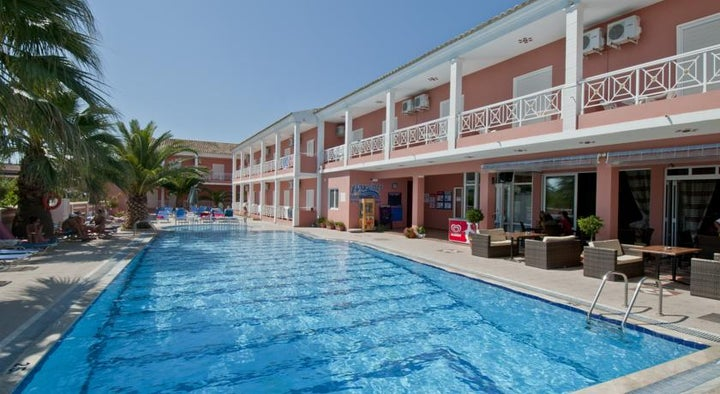 Angelina Aparthotel in Sidari, Corfu, Greek Islands