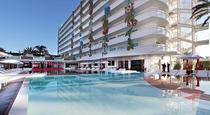 Ushuaia Ibiza Beach Hotel in Playa d'en Bossa, Ibiza, Balearic Islands