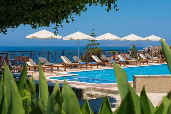 Irida Apartments in Aghia Pelagia, Crete, Greek Islands