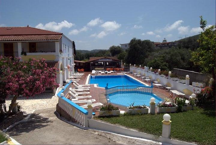 Leftis Romantica Apartments in Moraitika, Corfu, Greek Islands