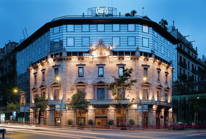 Claris and Spa in Barcelona, Costa Brava, Spain