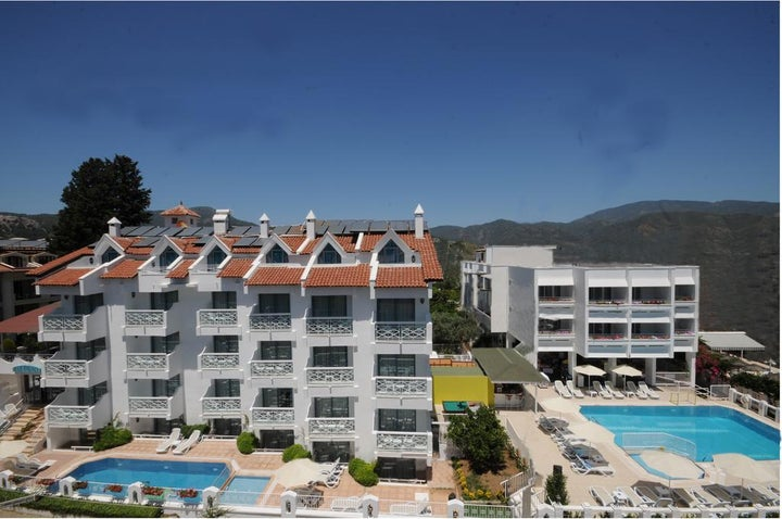 Blue Palace in Marmaris, Dalaman, Turkey