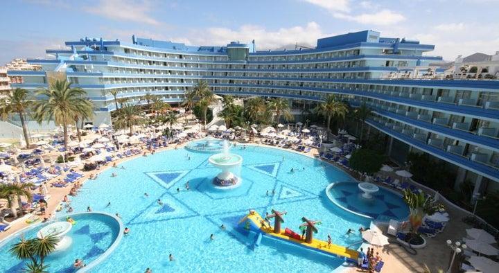 Mediterranean Palace Hotel (Mare Nostrum Resort) in Playa de las Americas, Tenerife, Canary Islands