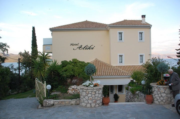 Aliki Hotel in Nikiana, Lefkas, Greek Islands