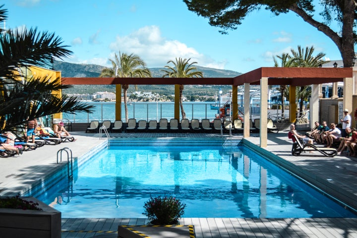Comodoro Playa Hotel in Palma Nova, Majorca, Balearic Islands