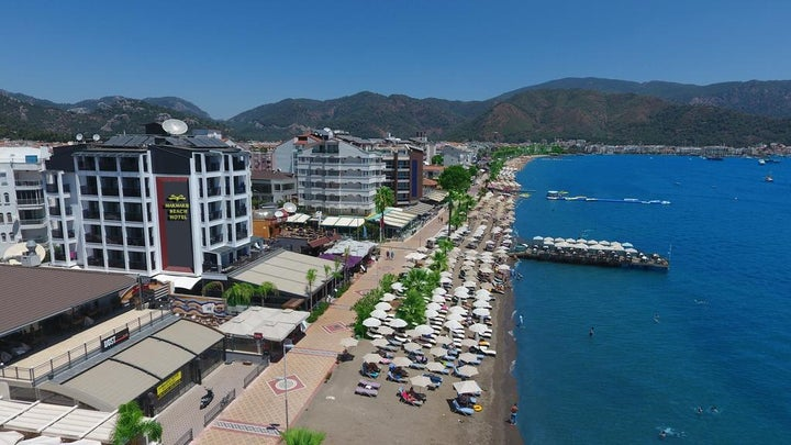 Marmaris Beach Hotel in Marmaris, Dalaman, Turkey