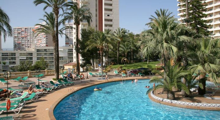 Palm Beach Hotel in Benidorm, Costa Blanca, Spain