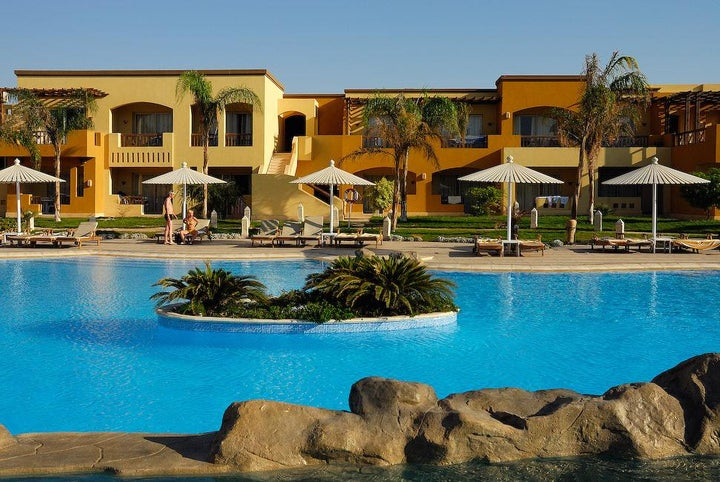 Grand Plaza Resort in Hurghada, Red Sea, Egypt
