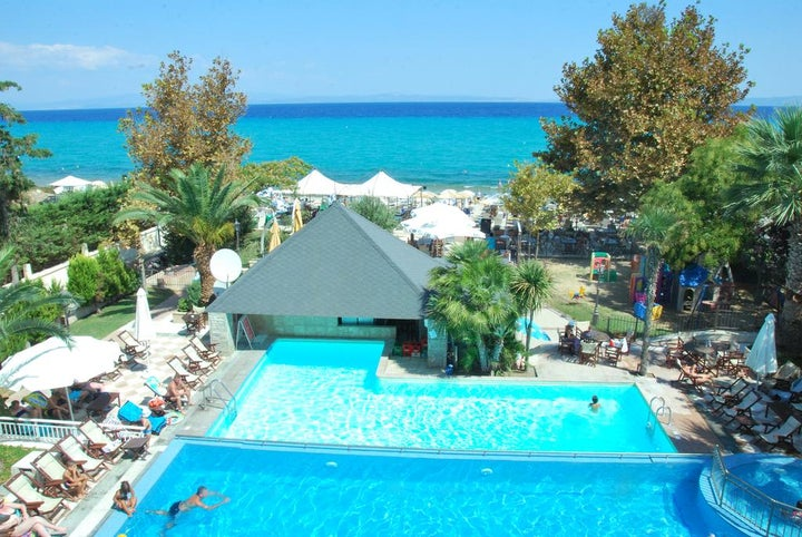 Naias Apartments in Hanioti, Halkidiki, Greece
