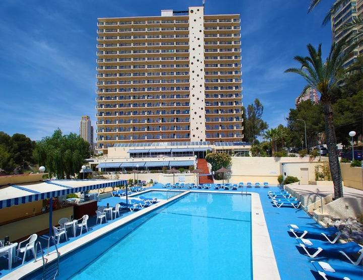 Poseidon Playa Hotel in Benidorm, Costa Blanca, Spain