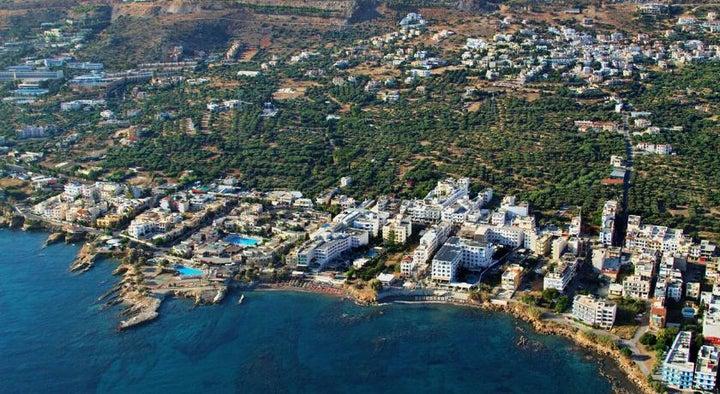 Golden Beach Hotel in Hersonissos, Crete, Greek Islands