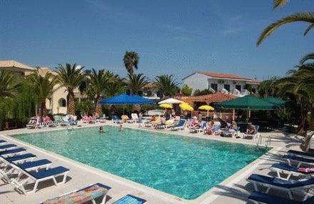 Morfeas Hotel in Kavos, Corfu, Greek Islands