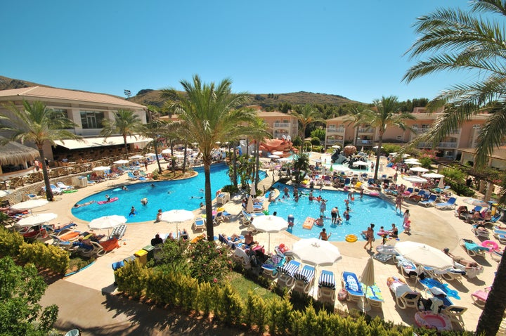 Playa Mar and Spa in Puerto Pollensa, Majorca, Balearic Islands