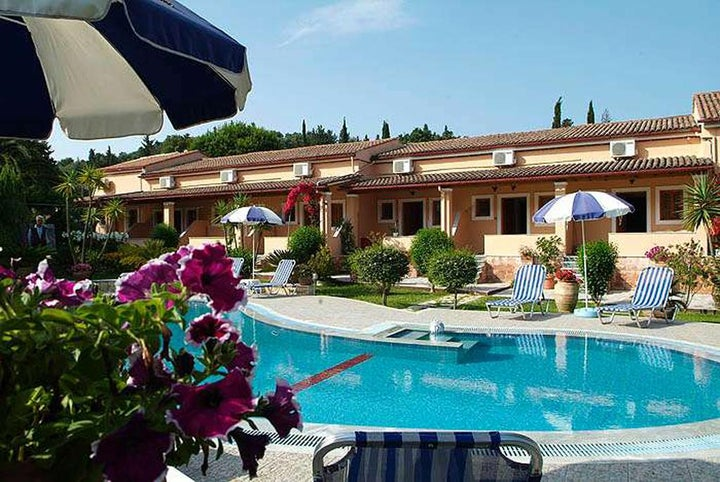 Mary Helen Apartments in Kassiopi, Corfu, Greek Islands