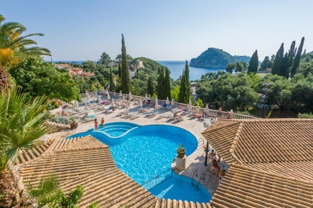 Luton Airport holidays to Corfu