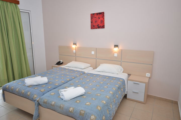 Paradiso Apartments in Ipsos, Corfu, Greek Islands