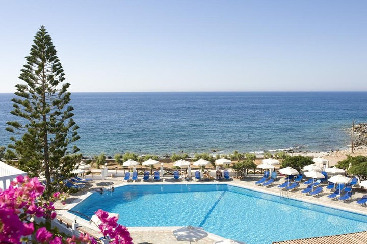 Maritimo Beach Hotel in Sissi, Crete, Greek Islands