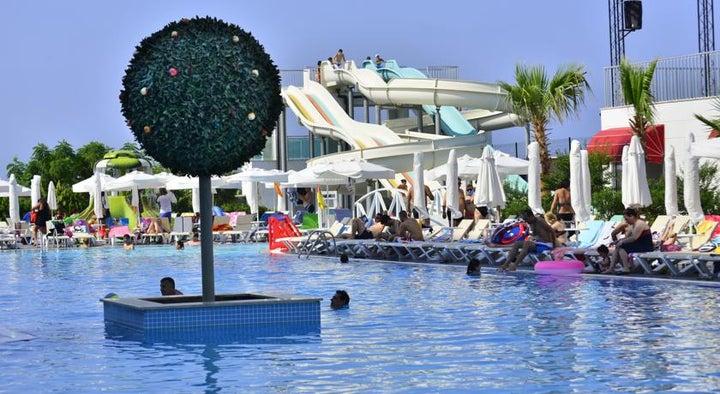 White City Resort Hotel in Alanya, Antalya, Turkey