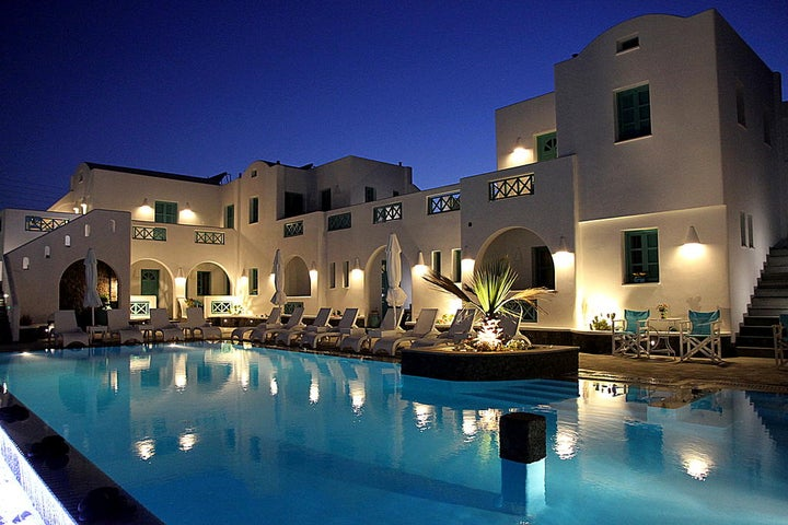 Anastasia Princess Boutique Hotel in Perissa, Santorini, Greek Islands