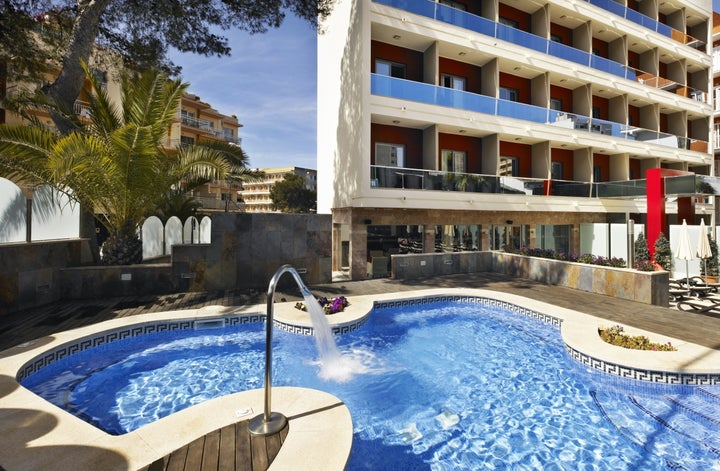 Mediterranean Bay Hotel in El Arenal, Majorca, Balearic Islands