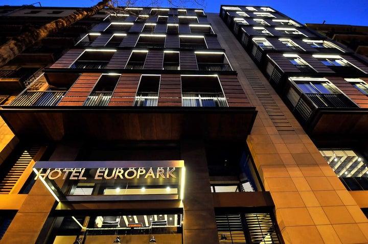 Europark in Barcelona, Costa Brava, Spain