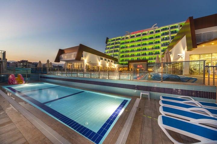 Sun Star Resort in Alanya, Antalya, Turkey