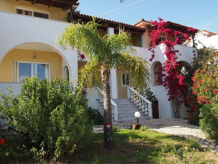 Naturist Panorama Hotel in Vassilikos, Zante, Greek Islands
