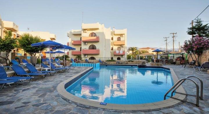 Paradise Apartments in Kato Daratso, Crete, Greek Islands