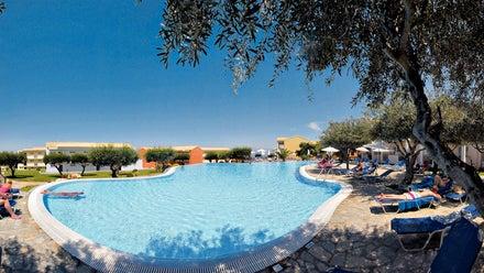 Mareblue Beach Resort in Kassiopi, Corfu, Greek Islands