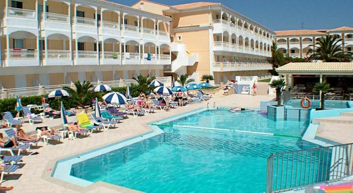 Poseidon Beach Hotel in Laganas, Zante, Greek Islands