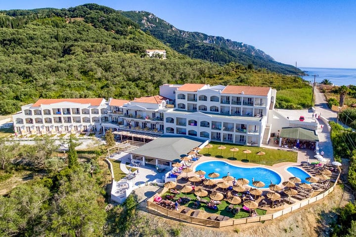 Saint George Palace Hotel in Aghios Georgios, Corfu, Greek Islands