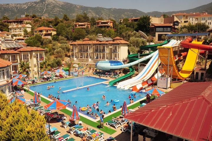 Gural Aqua Resort Hotel & Apartments in Olu Deniz, Dalaman, Turkey