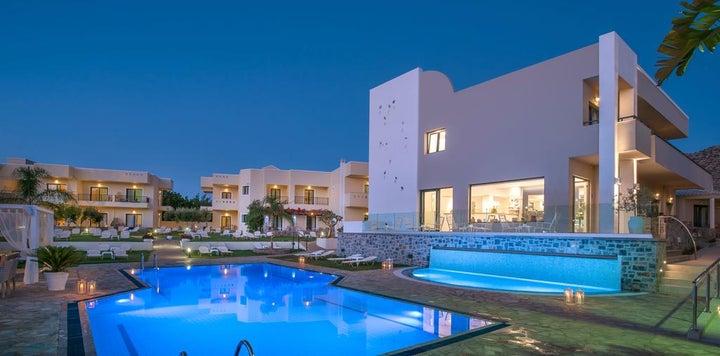 Kristalli Hotel Apartments in Malia, Crete, Greek Islands