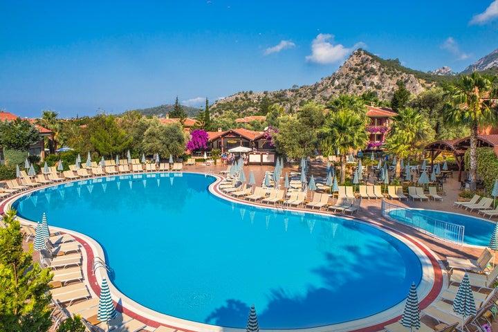 Suncity Hotel & Beach Club in Olu Deniz, Dalaman, Turkey