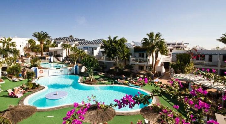Parque Tropical Apartments in Puerto del Carmen, Lanzarote, Canary Islands