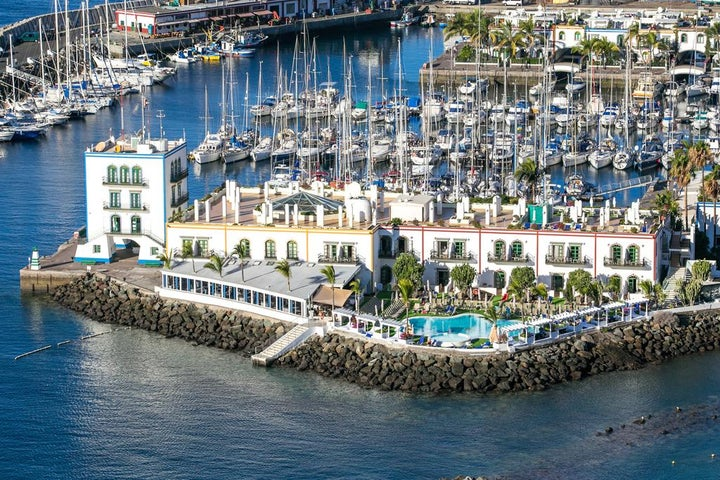 Hotel THe Puerto de Mogan in Puerto de Mogan, Gran Canaria, Canary Islands