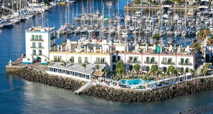 Hotel the puerto de mogan in puerto de mogan gran canaria holidays from 515pp loveholidays - Marina apartments puerto de mogan ...