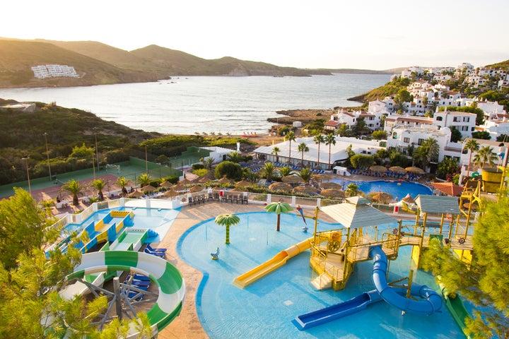 Carema Club Resort in Playa de Fornells, Menorca, Balearic Islands