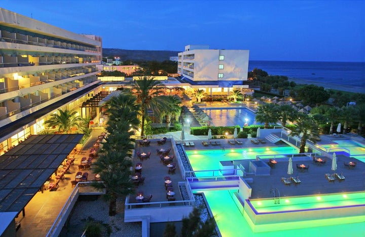 Blue Sea Beach Resort in Faliraki, Rhodes, Greek Islands