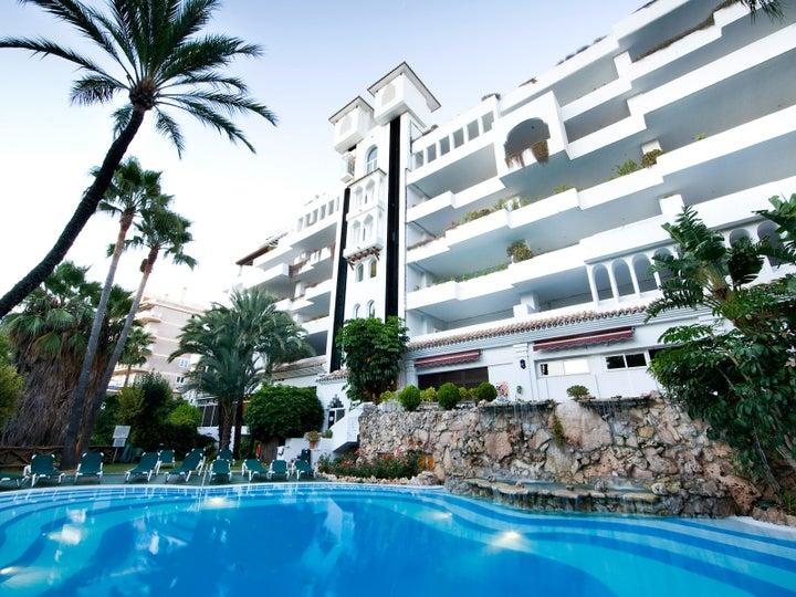 Monarque Sultan Aparthotel in Marbella, Costa del Sol, Spain