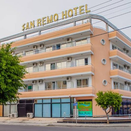 San Remo Hotel in Larnaca, Cyprus